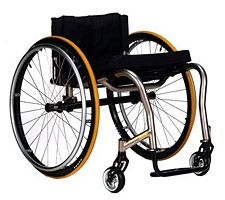 Crossfire Titanium Wheelchair